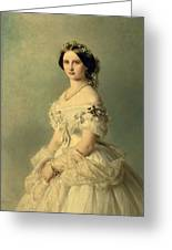 Portrait Of Princess Of Baden Greeting Card