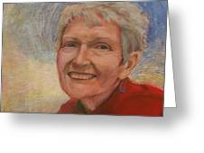 Portrait Of Ruth Sentelle Greeting Card