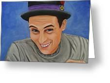 Portrait Of Shawn Davis Mooney  Greeting Card