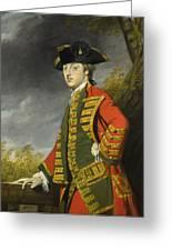 Portrait Of Sir Gerard Napier Greeting Card