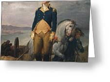 Portrait Of Washington Greeting Card