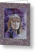 Portrati Of Mary Guccione, My Mom Greeting Card