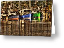 Portsmouth Boats Greeting Card
