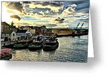 Portsmouth Harbor 2 Framed Print Can Be Seen On Set Of Abcs Desperate Housewives Greeting Card by Edward Myers