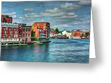 Portsmouth Harbor Greeting Card