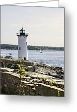 Portsmouth Harbor Light Greeting Card