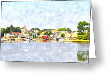 Portsmouth Nh South End Psewc Greeting Card by Jim Brage