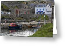 Portsoy Harbour Greeting Card