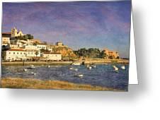 Portugal, Ferragudo Village  Greeting Card
