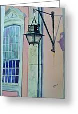 Portugal Street Scene Greeting Card