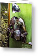 Portuguese Armor Greeting Card