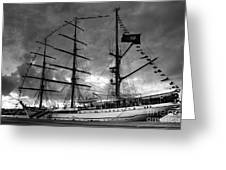 Portuguese Tall Ship Greeting Card