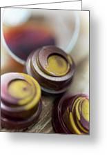 Portwine Infused Chocolates Greeting Card