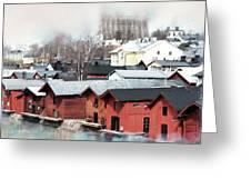 Porvoo Town II Greeting Card