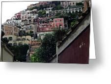 Positano, Amalfi,, Italy Greeting Card