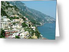 Positano In The Afternoon Greeting Card