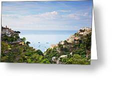 Positano Italy Greeting Card