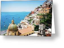 Positano, Italy II Greeting Card