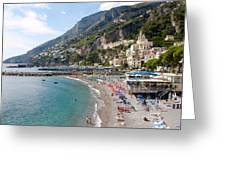 Positano Paradise Greeting Card