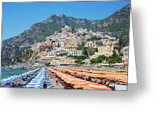 Positano Resort Greeting Card