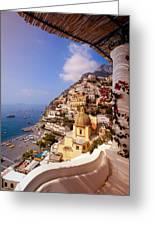 Positano View Greeting Card