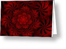 Positively Red Greeting Card