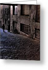 Post Alley IIi Greeting Card