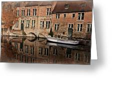 Postcard Canal II Greeting Card