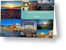 Postcard From Alassio Greeting Card