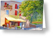 Postcard From Provence Greeting Card