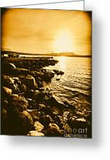 Postcard Perfect Tasmania Greeting Card