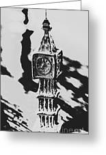 Postcards From Big Ben  Greeting Card