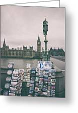Postcards From Westminster Greeting Card