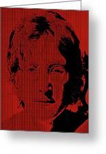 Poster Art Lennon Greeting Card