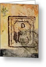 Postmark Girl Greeting Card
