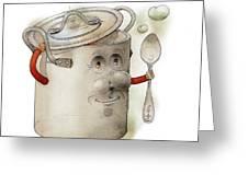Pot Greeting Card