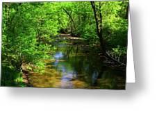 Potamac River In Maryland Greeting Card