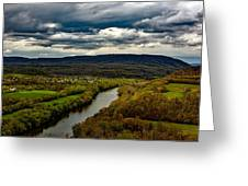 Potomac River Valley - West Virginia Greeting Card