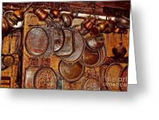 Pots And Pans Shop Or Is Jinni Home  Greeting Card