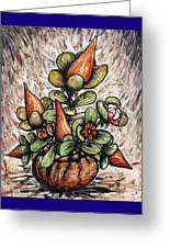 Potted Flower #2 Greeting Card