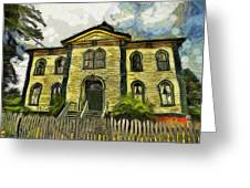 Potter Schoolhouse Greeting Card