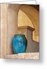 Pottery And Archways Greeting Card by Sandra Bronstein