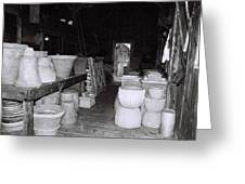 Potting Barn Of Maine Greeting Card