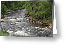 Poudre River 3 Greeting Card