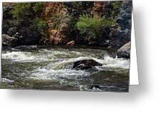 Poudre River 2 Greeting Card