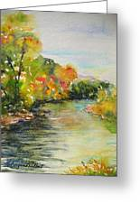 Poudre Riverbend Greeting Card