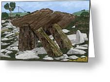 Poulnabrone Dolmen County Clare Ireland Greeting Card