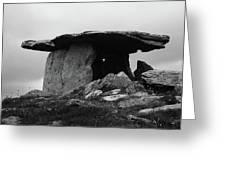 Poulnabrone Dolmen No1 Greeting Card