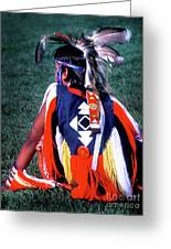 Pow-wow Colors Greeting Card