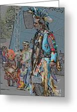 Pow Wow Competition Greeting Card